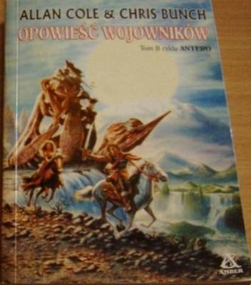 Okładka książki Opowieść wojowników