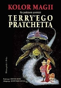 Okładka książki Kolor Magii (komiks)