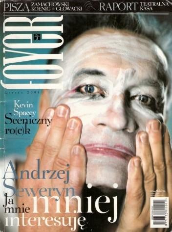Okładka książki Foyer, nr 1 / lipiec 2004