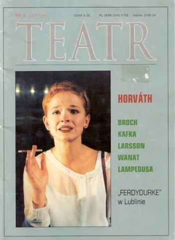 Okładka książki Teatr, nr 2 / luty 1999