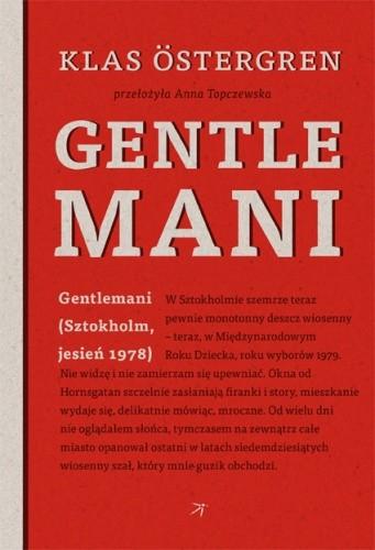 Okładka książki Gentlemani
