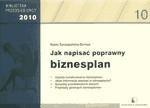 Okładka książki Jak napisać poprawny biznesplan