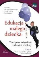 Okładka książki Edukacja małego dziecka. Tom 1