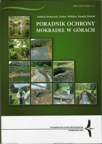 Okładka książki Poradnik ochrony mokradeł w górach