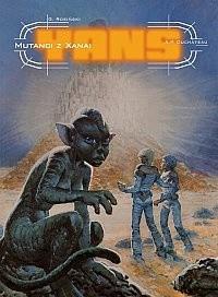 Okładka książki Yans: Mutanci z Xanai