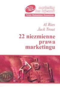 Okładka książki 22 niezmienne prawa marketingu
