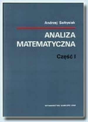 Okładka książki Analiza matematyczna, część I