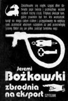 Okładka książki Zbrodnia na eksport