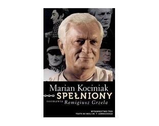Okładka książki Marian Kociniak. Spełniony