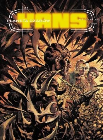 Okładka książki Yans: Planeta czarów