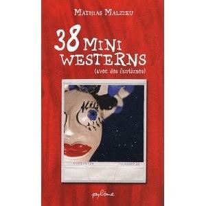 Okładka książki 38 mini westerns (avec des fantômes)