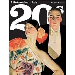 Okładka książki All American Ads of the 20's