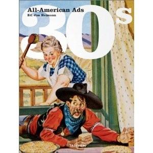 Okładka książki All-American Ads 30s
