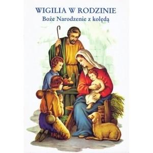 Okładka książki Wigilia w rodzinie. Boże Narodzenie z kolędą