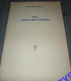Okładka książki Iris odkrywa Polskę