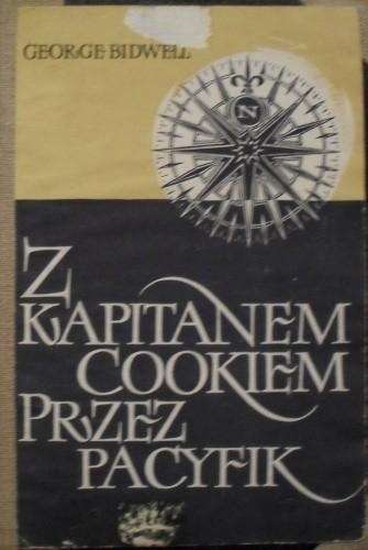 Okładka książki Z kapitanem Cookiem przez Pacyfik