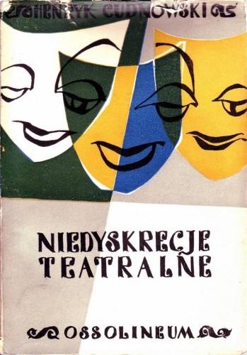 Okładka książki Niedyskrecje teatralne