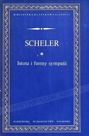 Okładka książki Istota i formy sympatii