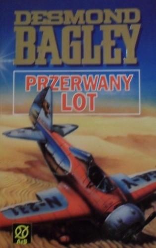 Okładka książki Przerwany lot
