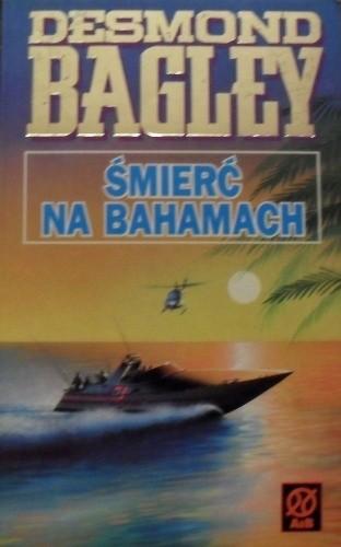 Okładka książki Śmierć na Bahamach