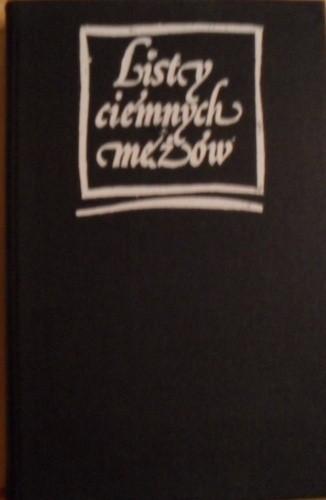 Okładka książki Listy ciemnych mężów