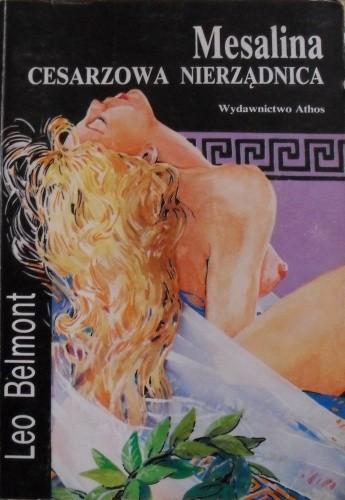 Okładka książki Mesalina Cesarzowa nierządnica
