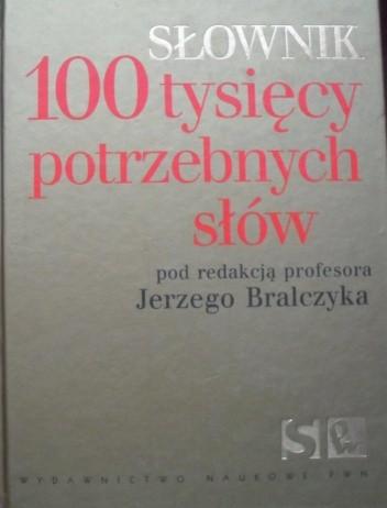 Okładka książki 100 tysięcy potrzebnych słów