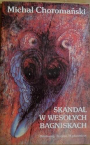 Okładka książki Skandal w Wesołych Bagniskach