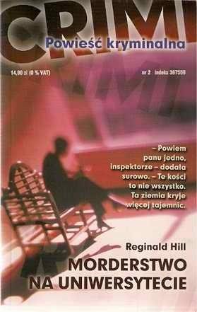 Okładka książki Morderstwo na uniwersytecie