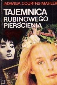 Okładka książki Tajemnica rubinowego pierścienia