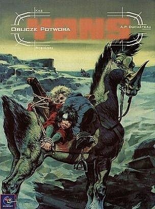 Okładka książki Yans: Oblicze potwora