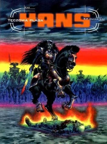 Okładka książki Yans: Tęczowa plaga