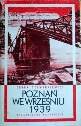 Okładka książki Poznań we wrześniu 1939