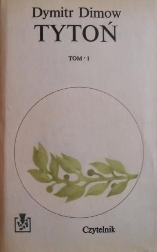 Okładka książki Tytoń t. I, t.II