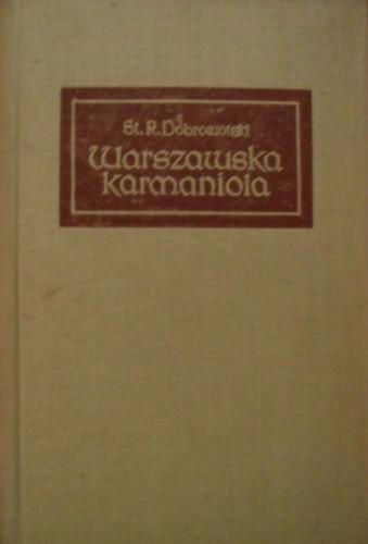 Okładka książki Warszawska karmaniola