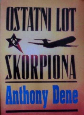 Okładka książki Ostatni lot  Skorpiona