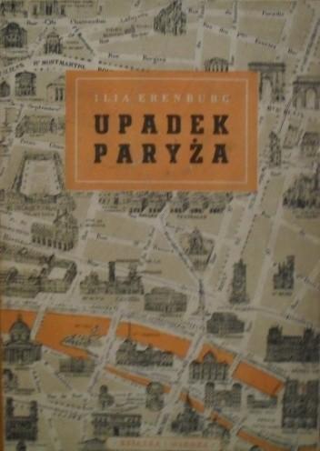 Okładka książki Upadek Paryża