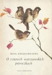 Okładka książki O czterech warszawskich pstroczkach