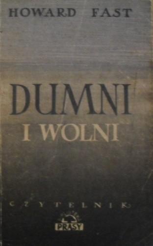 Okładka książki Dumni i wolni