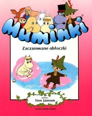 Okładka książki Muminki. Zaczarowane obłoczki