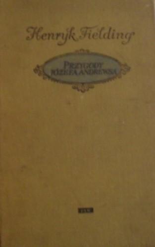 Okładka książki Przygody Józefa Andrewsa