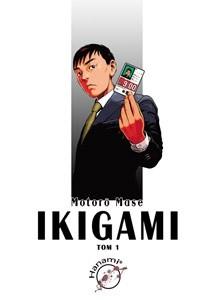 Okładka książki Ikigami #1