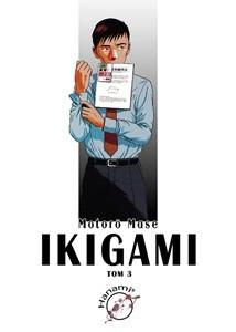 Okładka książki Ikigami #3