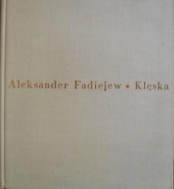 Okładka książki Klęska