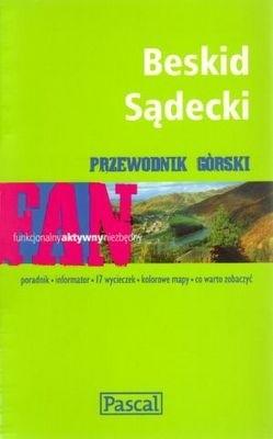 Okładka książki Beskid Sądecki. Przewodnik górski