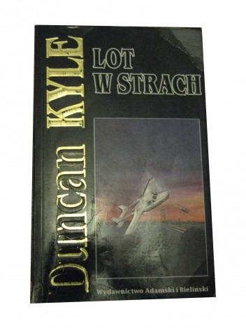 Okładka książki Lot w strach