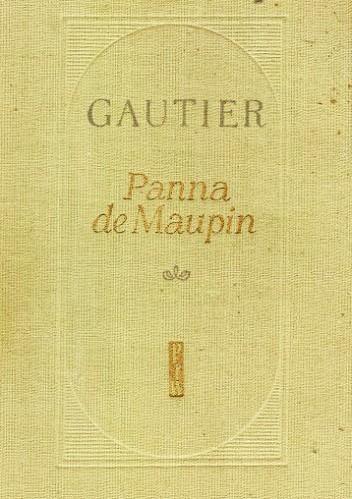 Okładka książki Panna de Maupin