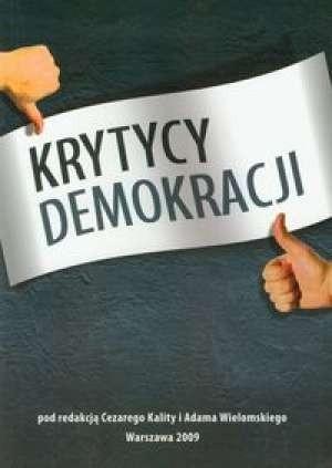 Okładka książki Krytycy demokracji