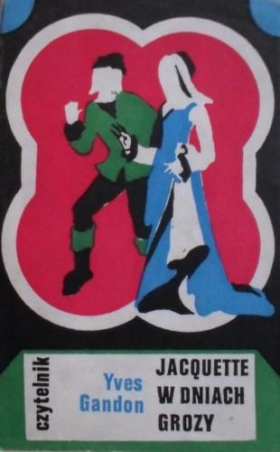 Okładka książki Jacquette w dniach grozy