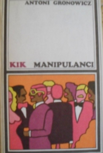 Okładka książki Manipulanci